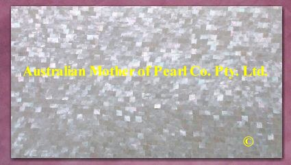 Mother of Pearl mosaic panel