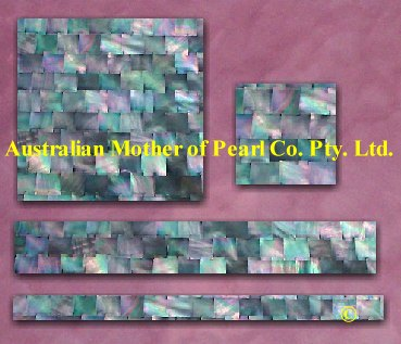 Mother of Pearl mosaic tiles dark